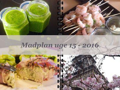 CDJetteDC's LCHF: MADPLAN uge 15 - 2015