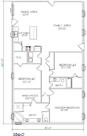 478 best house plans images on pinterest architecture for 35x60 house plans