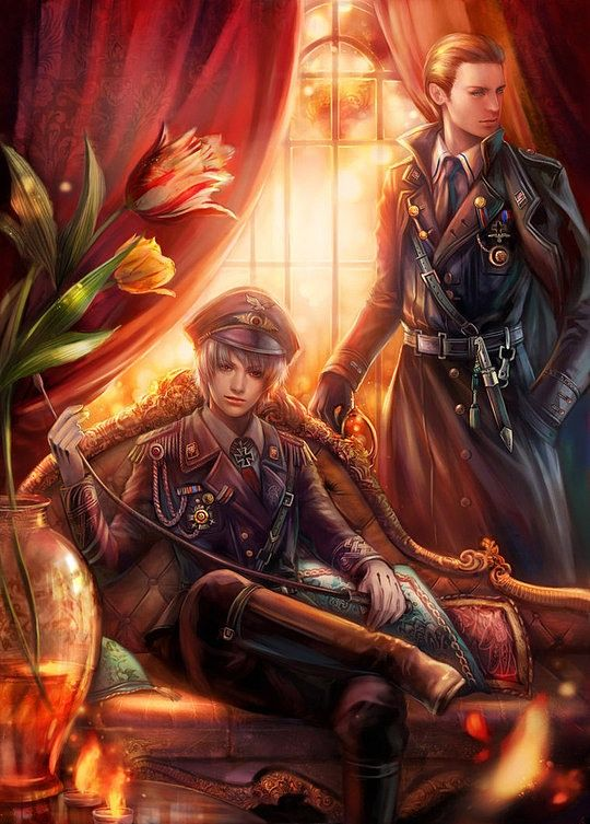 Creative Comic Illustrations by Yang Fan (Axis Power Hetalia)
