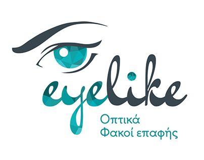 """Check out new work on my @Behance portfolio: """"eyelike - optical store"""" http://on.be.net/1RoH3Av"""
