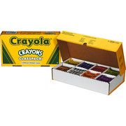 I would be in heaven with this huge box of crayons!!
