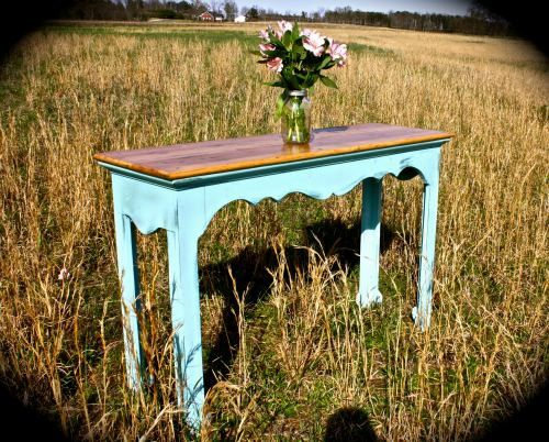 Shabby Chic Tables – Vintage Furniture – Refinished Furniture – Distressed Furni…