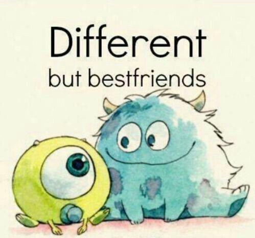Different but best friend❤️