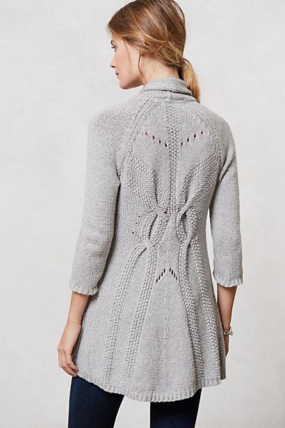 shawl collar cardi / anthropologie