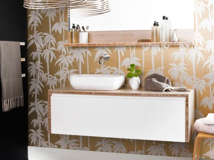 Combining seamless styling with outstanding quality, each piece in the CIBO collection unifies the concepts of form and function perfectly. A compact linear design and beautifully natural finish make the Cibo Eco Bamboo Vanity Unit a statement in visual elegance with great environmental credentials. #eco