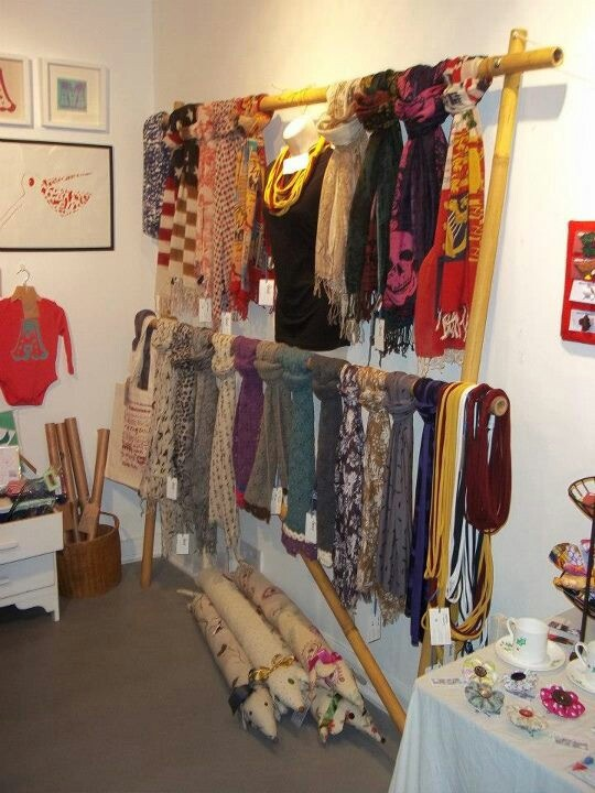 11 best images about creative scarf display on