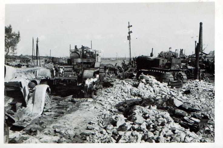 история в фотографиях - Немцы в городе... Фотографии Ростова периода немецкой оккупации.