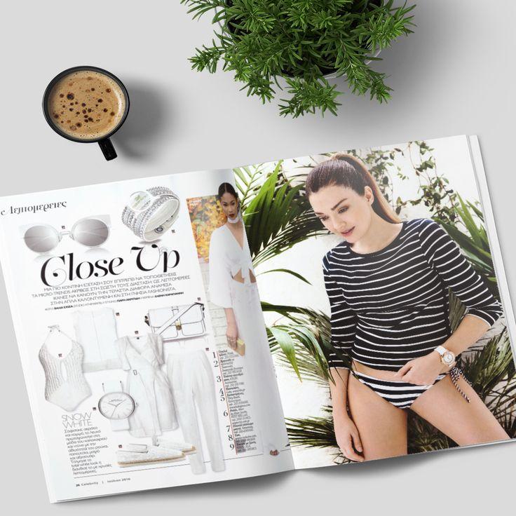 Δεν έχεις επενδύσει σε μαρινιέρα ακόμη; Γρήγορα, βρες το νούμερο σου και ετοιμάσου ... σαλπάρουμε! Στην παρέα μας το Celebrity Greece Magazine και η μοναδική Apostolia Zoi!
