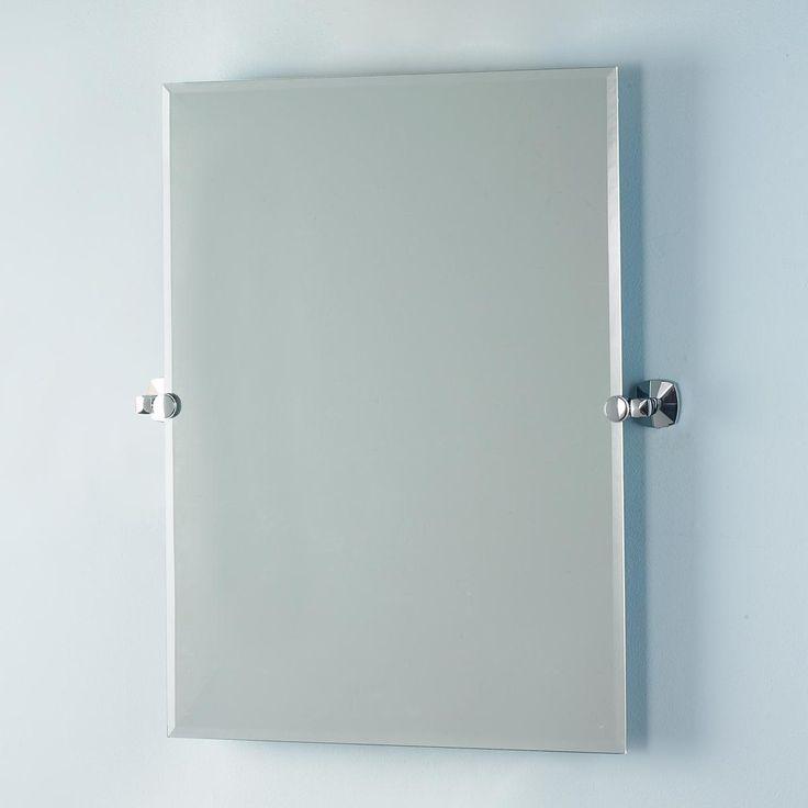 Bathroom Tilt Mirror: Rectangular Tilting Wall Mirror