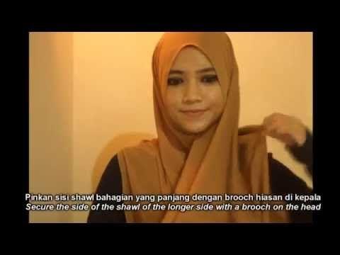 Austere Attire Hijab Tutorial: Everyday wear - YouTube