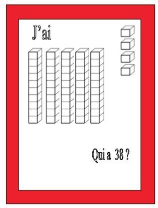 Jeu mathématiques : qui a ... ? - Le petit cartable de Sanleane