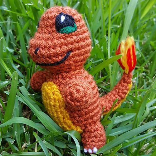 Ravelry: Charmander Pokemon pattern by Nichole's Nerdy Knots