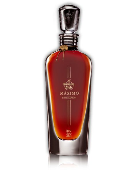 Havana Club Máximo Extra Añejo - The Máximo is handcrafted from rare extra-aged rums and enshrined within an elegant crystal decanter. There will never be a rum that better expresses the Cuban rum culture and its rich tradition than Havana Club Máximo Extra Añejo.