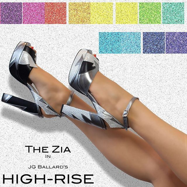 Zia special edition black silver grey made for #HighRise starring @siennamiller1 released today in the U.S.