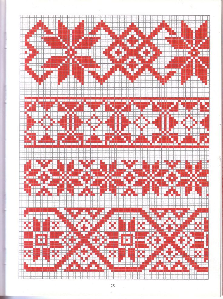 Krustdūrienu raksti / Latvian tracitional cross stitch