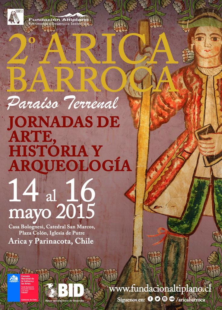 Afiche segundo Arica Barroca Año: 2015