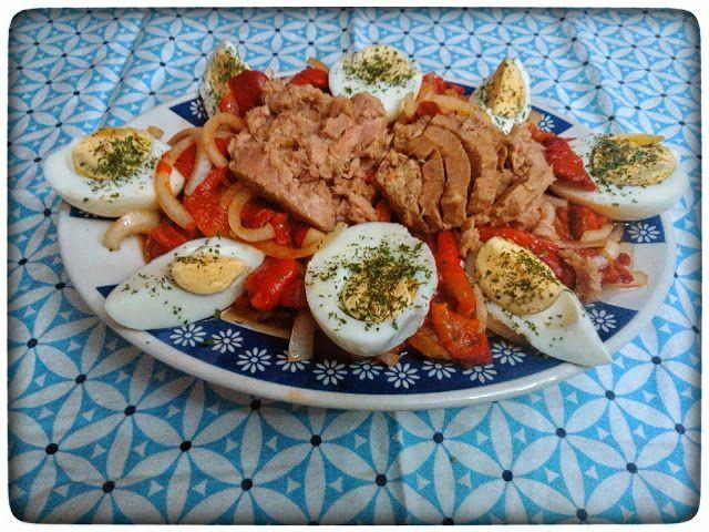 Ensalada de atun recetas de cocina facil pinterest for Pataka bano food mat