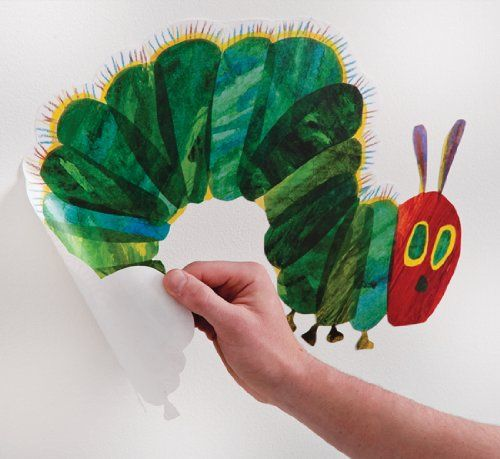The Very Hungry Caterpillar Nursery and Playroom Wall Sticker Décor Kit