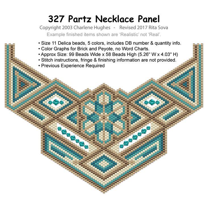 327 Partz Necklace Panel Pattern, Sova-Enterprises.com