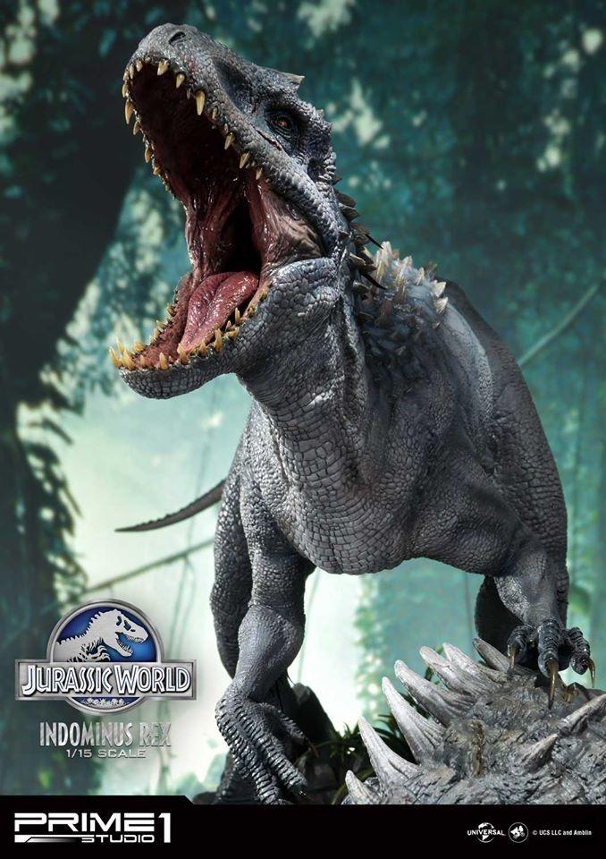 Indominus Rex Prime 1 Studio Dinosaurios Jurassic World Spinosaurus Dinosaurios Jurassic Park