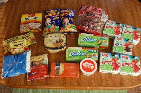 Gretchen's $32 Grocery Shopping Trip and Weekly Menu Plan - Money Saving Mom®