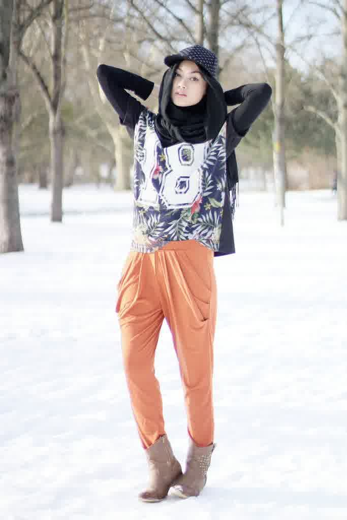 Style Hijab Casual by Indah Nada Puspita. I love she's style