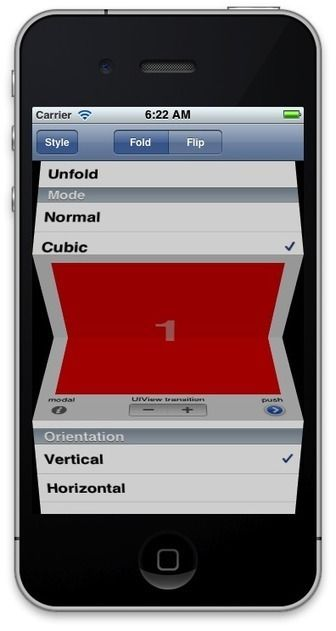 Custom iPhone UIs including code