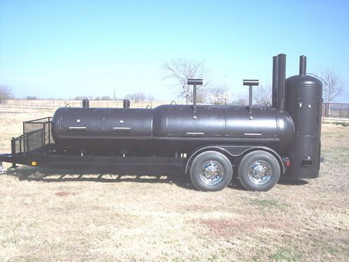 NEW BBQ pit Charcoal grill Smoker concession Trailer