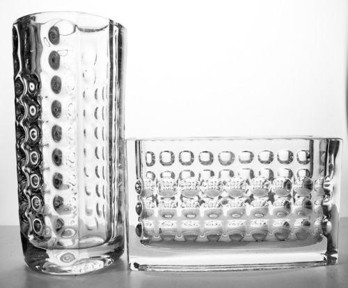1963 Mid Century Modernist Vase Design Rudolf Jurnikl For Rudolfa Czechoslovakia