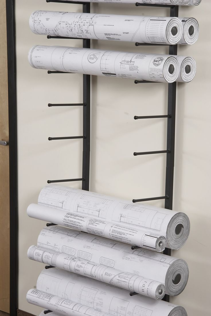 11 best blueprint storage diy images on pinterest organization vis i rack for large rolled documents such as blueprints plans and architectural malvernweather Gallery