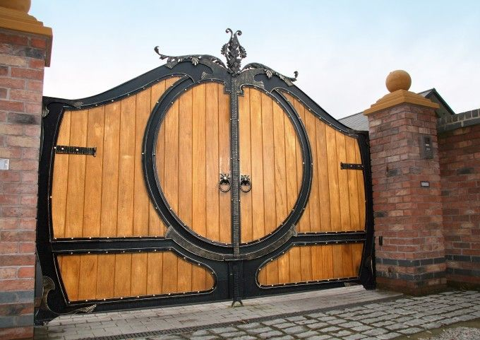Driveway Gates Designs | Latest Designer Iron Gates – Gatesiron.com