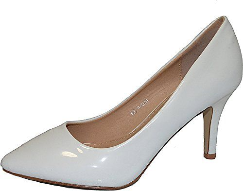 Damen Pumps Spitze Pastell High Heels Schuhe Lack Glitzer Elegant Peep-Toes Hochzeit Größe 37, Farbe Weiss - http://on-line-kaufen.de/elara/37-eu-damen-pumps-spitze-high-heels-stiletto-lack-8