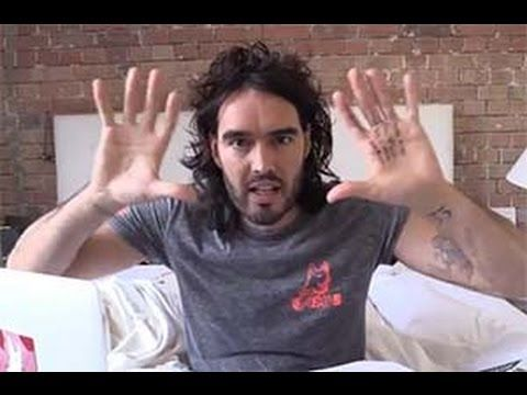 """Russell Brand """"Rips"""" Stephen Fry's Atheism... - VIDEO - http://holesinthefoam.us/russell-brand-rips-stephen-frys-atheism/"""