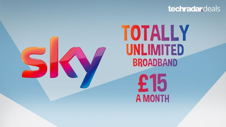 15 per month for unlimited Sky internet? It's the best broadband deal of the year