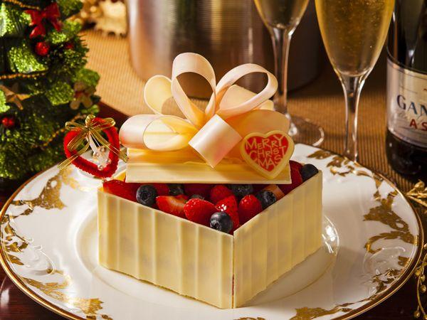 ◇パティシエ特製クリスマスケーキ&スパークリングワイン(イメージ)