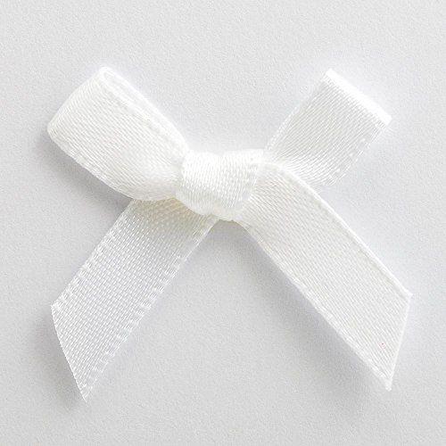 Raso Fiocchi-Confezione da 100-6mm 3cm, colore: bianco