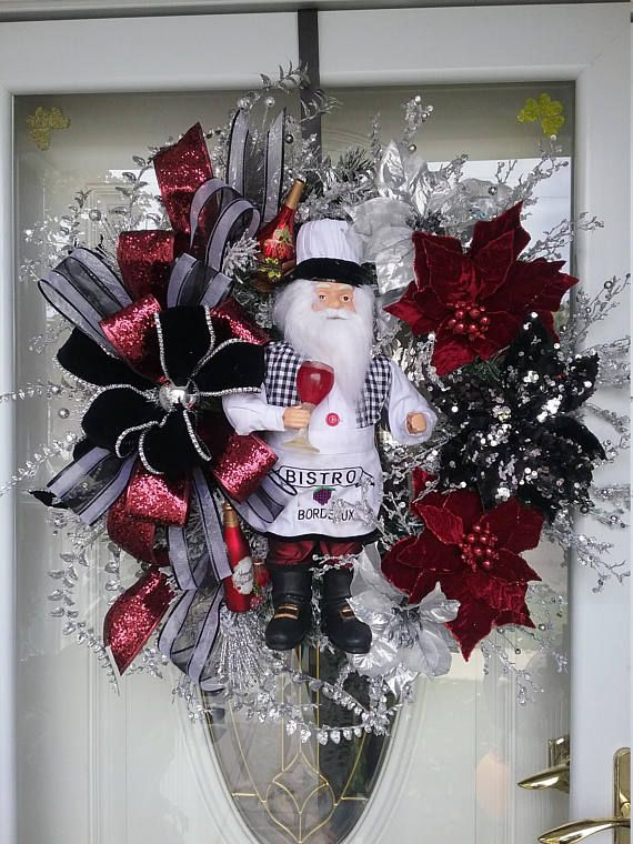 crafts ideas for christmas best 25 santa wreath ideas on diy door 4137