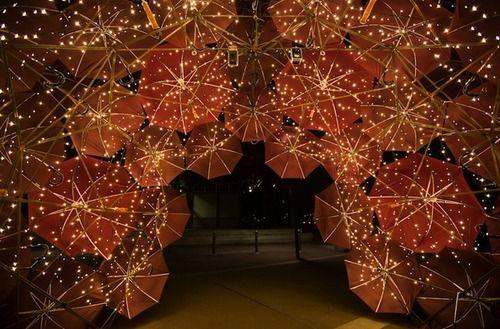 Peter Greig - Walsh Bay Arts Precinct Light Walk: Lights Installations, Anna Meister, Umbrellas Installations, Sydney Australia, Vivid Sydney, Art Installations, Sparkle Umbrellas, Beautiful Art, Artists Anna