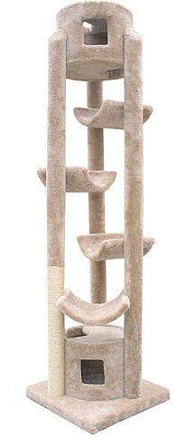 Molly y sus amigos Pináculo hecho a mano premium La torre del gato Pinnacle