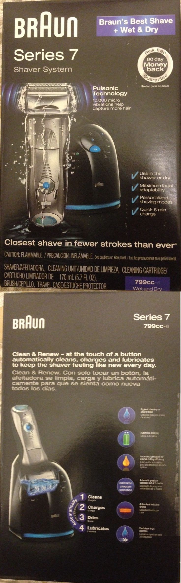 Shaver Parts and Accessories: Braun Series 7 Shaver System. Model -799Cc-6 -> BUY IT NOW ONLY: $183 on eBay!