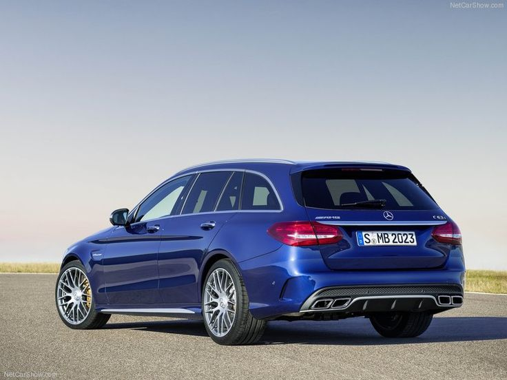 2015 Mercedes-Benz C63s AMG Rear View