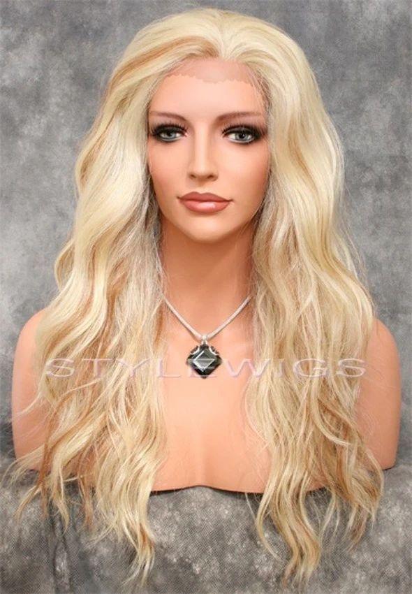 2020 Fashion Blonde Wigs Lace Frontal Hair Honey Blonde Hair Dye – pooilk