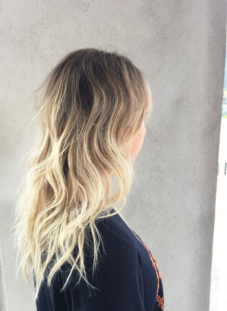 Love this blonde ombré