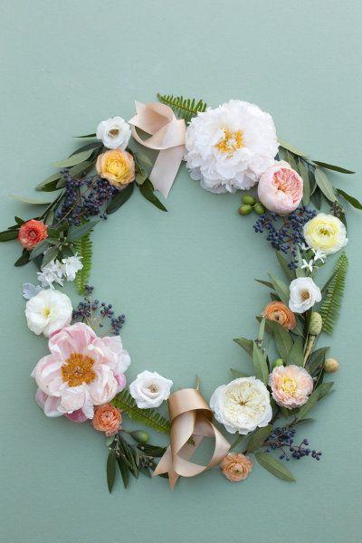 Wreath! Floral Design by Haute Horticulture / hautehorticulture.com/