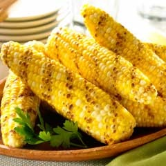 buttery grilled corn: Corn Recipes, Rolls Grilled, Macaroni Kids, Cooking 101, Butter Sprays, Buttery Grilled, Choo Fresh, Favorite Recipes, Grilled Corn