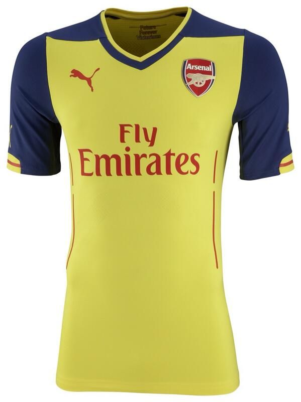 Arsenal away - this the one i ordered but it is in red not all the