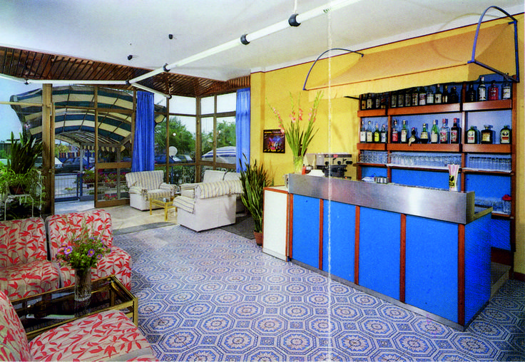 The old #lounge #bar in #HotelRudyCervia