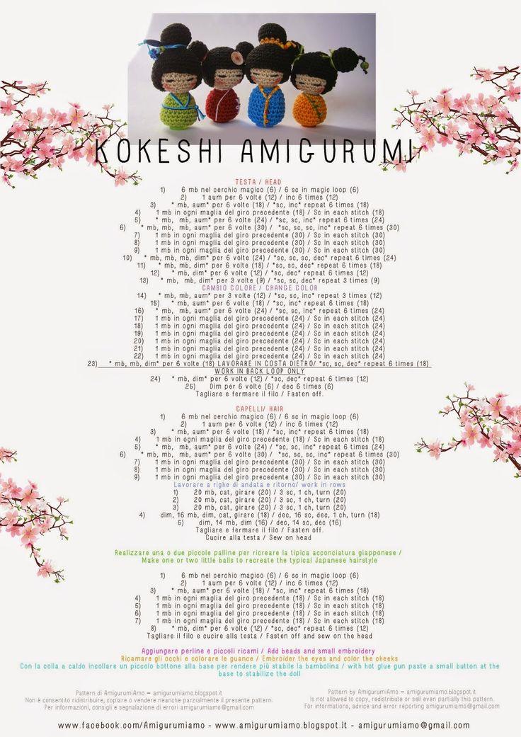 274 best Amigurumi Dolls images on Pinterest | Amigurumi doll ...