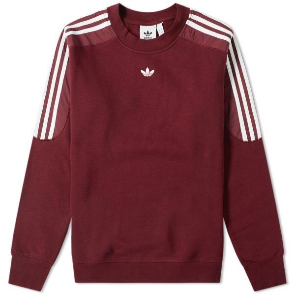 burgundy adidas shirt mens