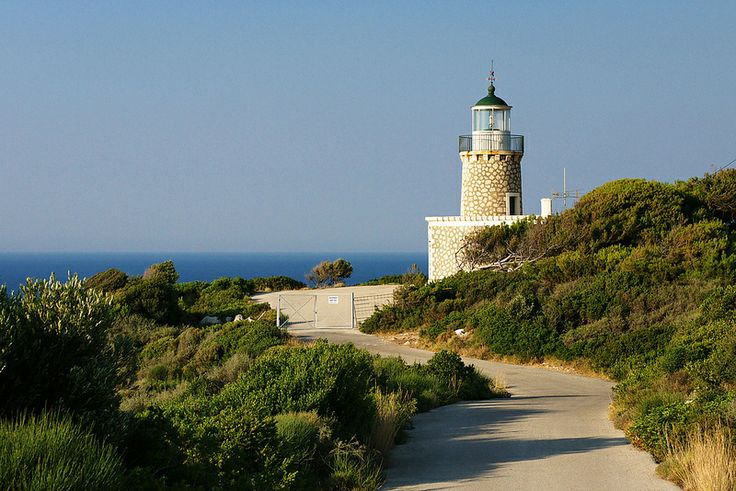 Skinari lighthouse (Zakynthos, Greece)